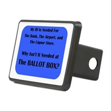 Voter ID Required Hitch Cover