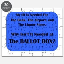 Voter ID Required Puzzle