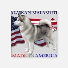 "Made in America Square Sticker 3"" x 3"""