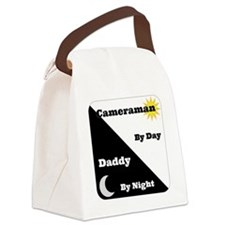Cameraman by day Daddy by night Canvas Lunch Bag