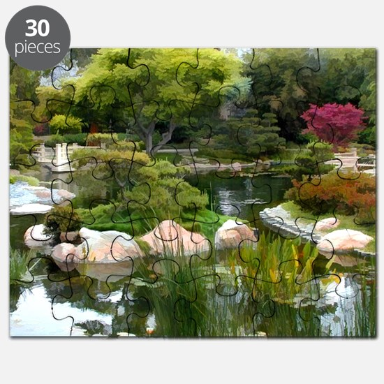 Japanese Garden Panorama copy Puzzle