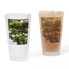 Japanese Garden Panorama copy Drinking Glass