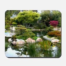Japanese Garden Panorama copy Mousepad