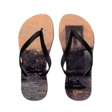 Edward Willis Redfield Flip Flops