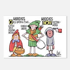 Hoodies Postcards (Package of 8)