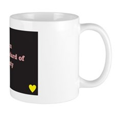 I Am the Standard black/pink Mug