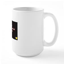I Am the Standard black/pink Mug
