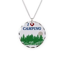 I love camping Necklace