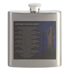 Never Forget It, Until They Regret It Poem Flask