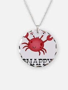 Snappy Crab Necklace