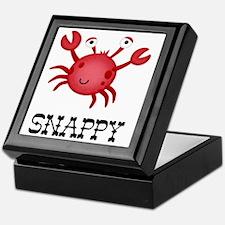 Snappy Crab Keepsake Box