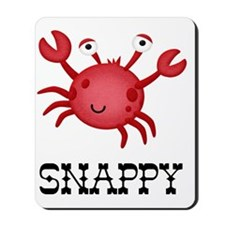 Snappy Crab Mousepad