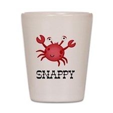 Snappy Crab Shot Glass