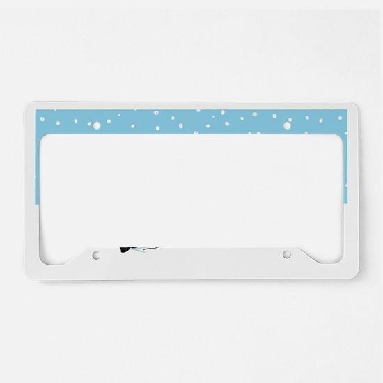 snowsheltieclutch License Plate Holder