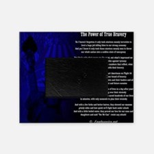 The Power of True Bravery Poem Picture Frame