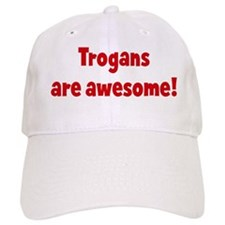 Trogans are awesome Baseball Cap