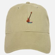 Bass Guitar Baseball Baseball Cap