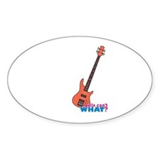 Bass Guitar Decal