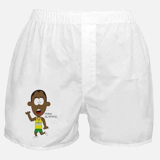 Man Olympic Boxer Shorts
