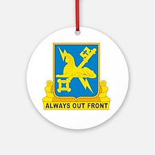 USA Army Military Intelligence Insi Round Ornament