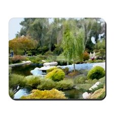 Round and Round the Lily Pond copy Mousepad