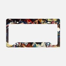 Wassily Kandinsky Composition License Plate Holder