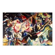 Wassily Kandinsky Composi Postcards (Package of 8)