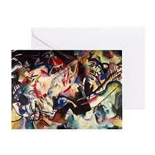 Wassily Kandinsky Composition VI Greeting Card
