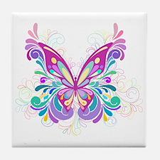 Decorative Butterfly Tile Coaster