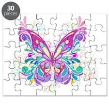 Decorative Butterfly Puzzle