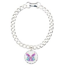 Decorative Butterfly Charm Bracelet, One Charm