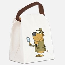 Detective_0029 Canvas Lunch Bag