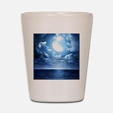 Night Ocean Shot Glass