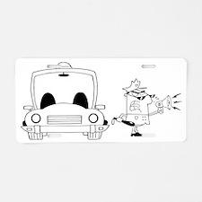 Police_0161 Aluminum License Plate