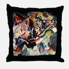 Wassily Kandinsky Composition VI Throw Pillow