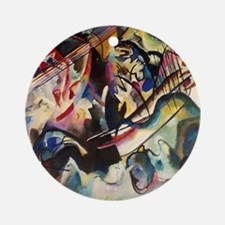 Wassily Kandinsky Composition VI Round Ornament