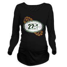 22:1 - Lonestar Trai Long Sleeve Maternity T-Shirt