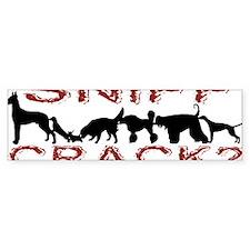 Sniff Crack Bumper Sticker