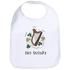 Be IRISH Bib