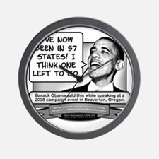 Obama Sez There Are 57 States Wall Clock