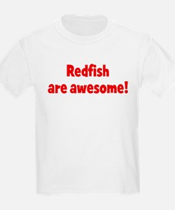 Redfish are awesome Kids T-Shirt
