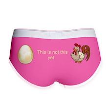 Anti-abortion egg personhood bil Women's Boy Brief