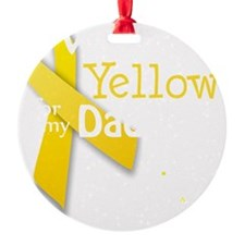 trans_i_wear_yellow_for_my_daddy_up Ornament