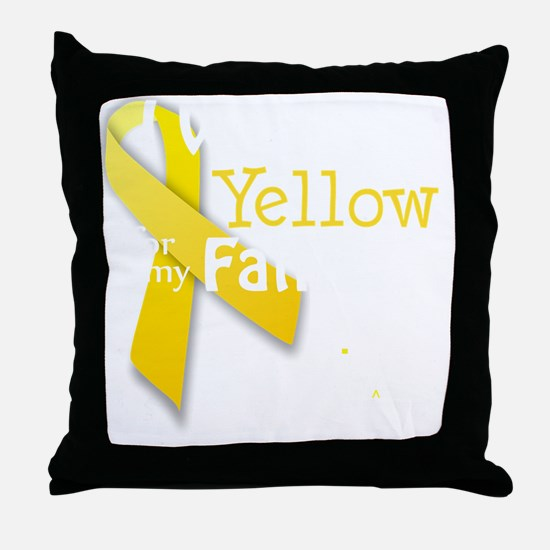 trans_i_wear_yellow_for_my_father_upd Throw Pillow