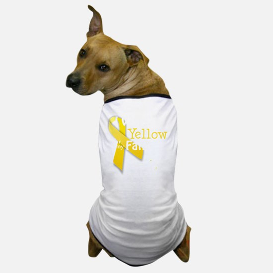 trans_i_wear_yellow_for_my_father_upda Dog T-Shirt