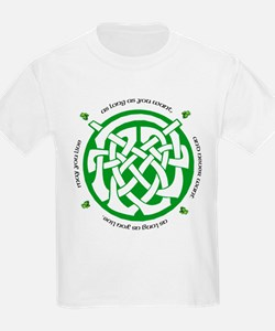 Irish Blessing (May you Live. Kids T-Shirt