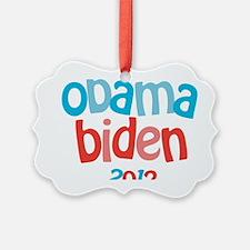 Obama Biden 2012 Ornament