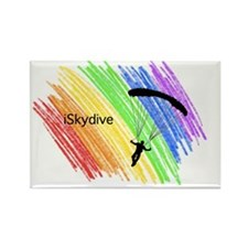 iAM a Skydiver Rectangle Magnet