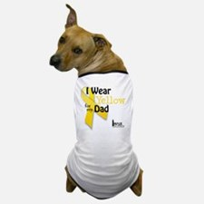 i_wear_yellow_for_my_dad_updated Dog T-Shirt