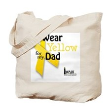 i_wear_yellow_for_my_dad_updated Tote Bag